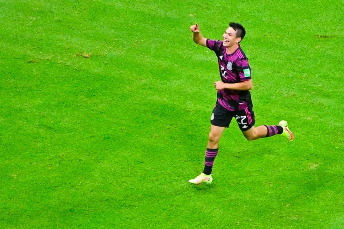 México golea a Honduras en partido rumbo a Qatar 2022