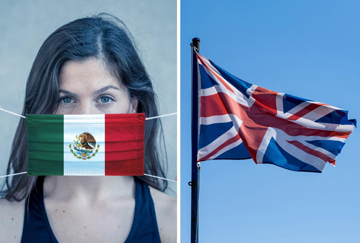 Saca Reino Unido a México de su lista roja de países con COVID-19