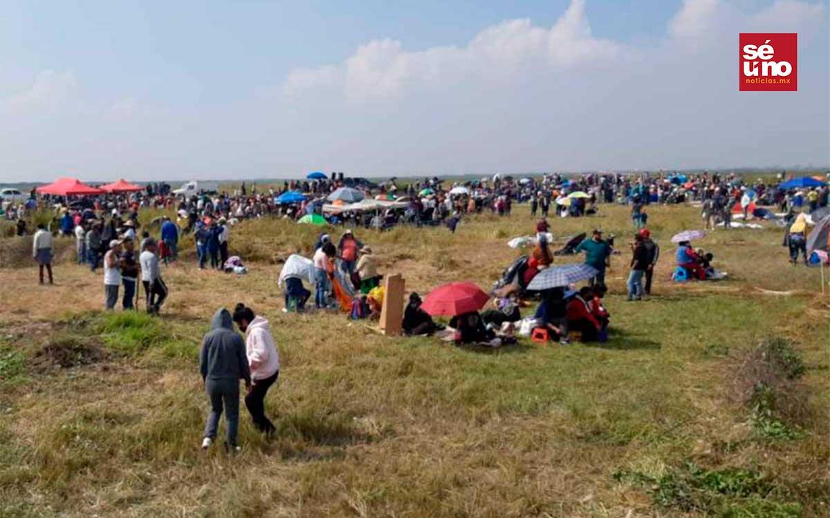 Morena exige aplicar la ley por invasión en ex Lago de Texcoco