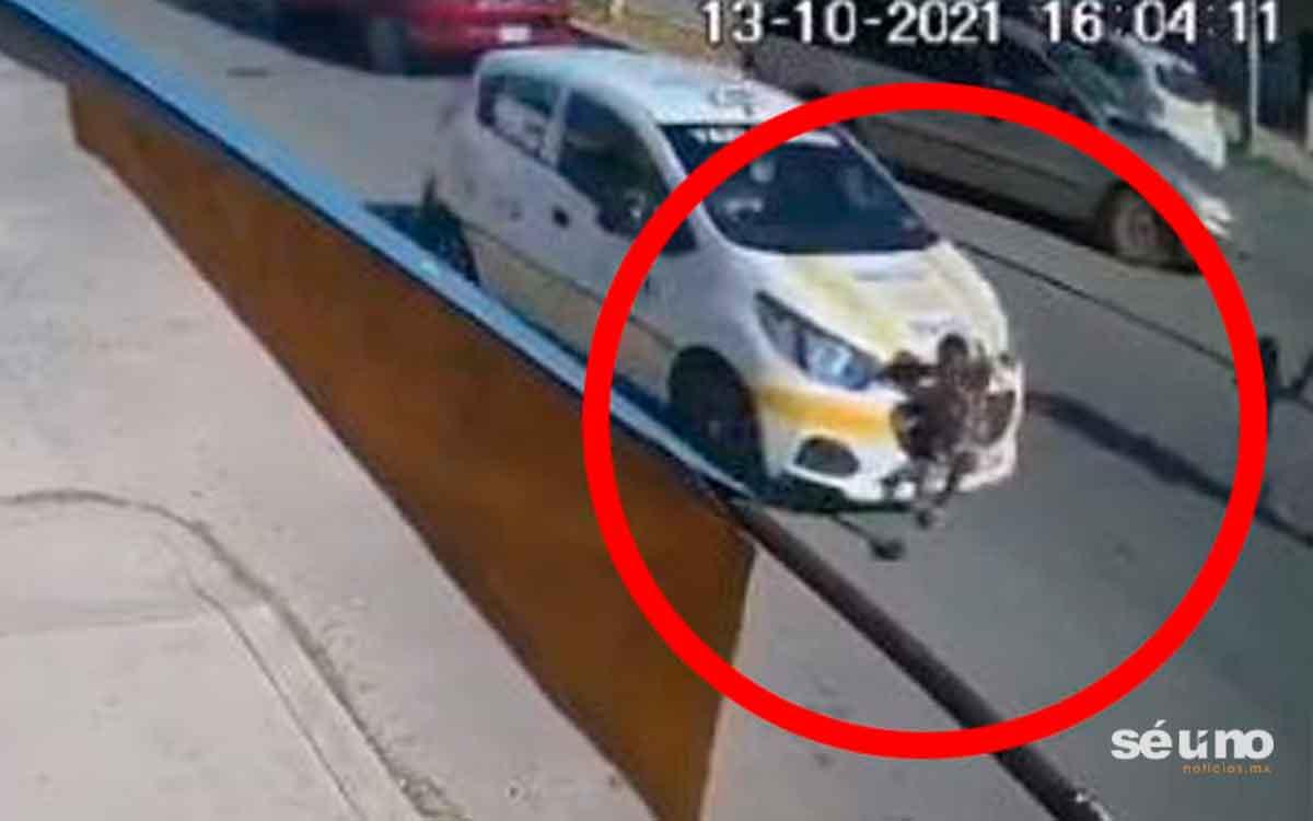 #Video Niño de tres años muere atropellado por un taxista