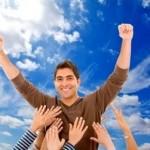 cualidades de una persona positiva, buena actitud, éxito