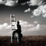 éxito, escalera hacia el cielo, cuadro tradicional del exito