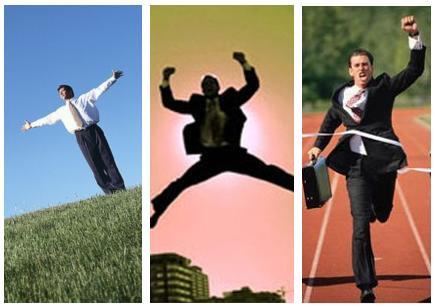 triunfar, triunfadores, meta, carrera, negocios