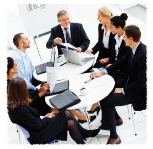 empresarios, ejecutivos, exitosos, liderazgo