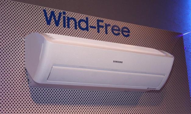 Wind-Free, o novo conceito de split da Samsung