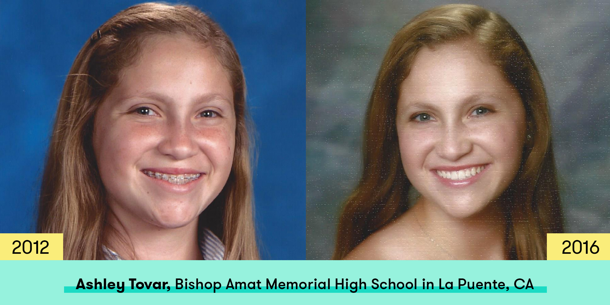 See How 15 Girls Changed Between Freshman And Senior Year