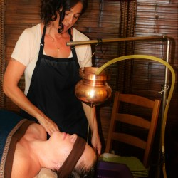Shirodhara Ayurveda Massage in Utah