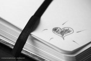 Liebe zeigen und schreiben