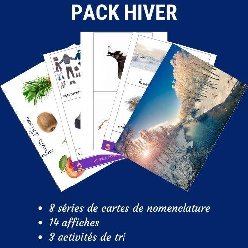 pack activités hiver