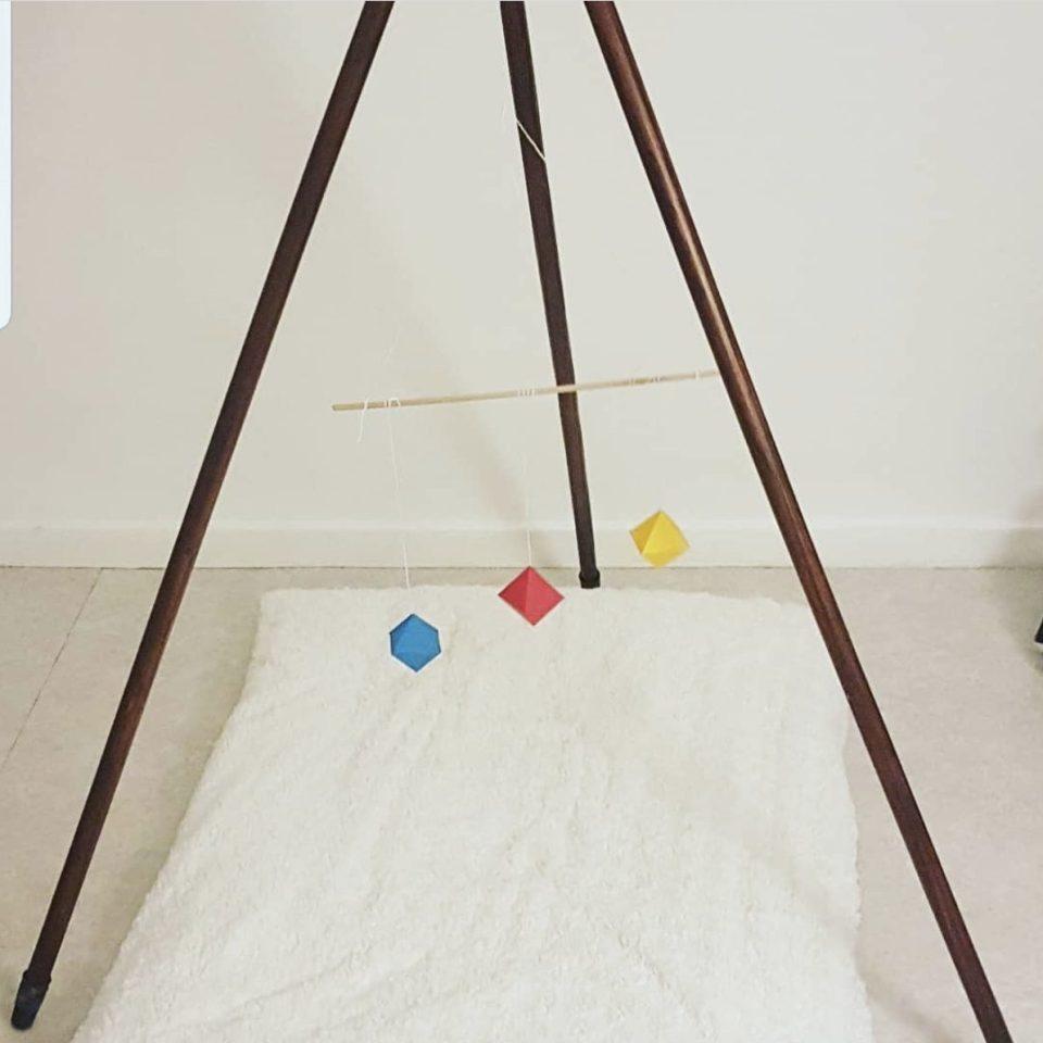 mobile des octaèdres - mobiles pour bébé
