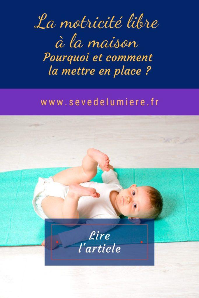 Motricité libre - Pédagogie Montessori bébé #montessori #pédagogie #motricitélibre