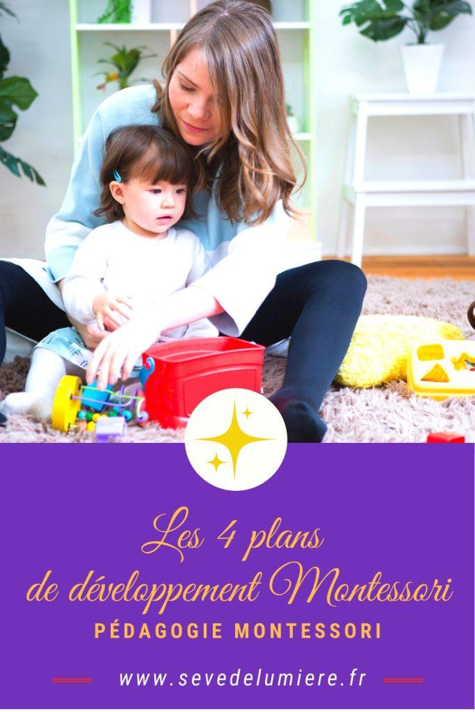 Mieux comprendre les plans de la pédagogie Montessori #accompagnersonenfant #parentalitépositive