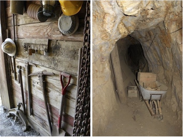 Джулиан (Julian). Инструменты старателей в шахте