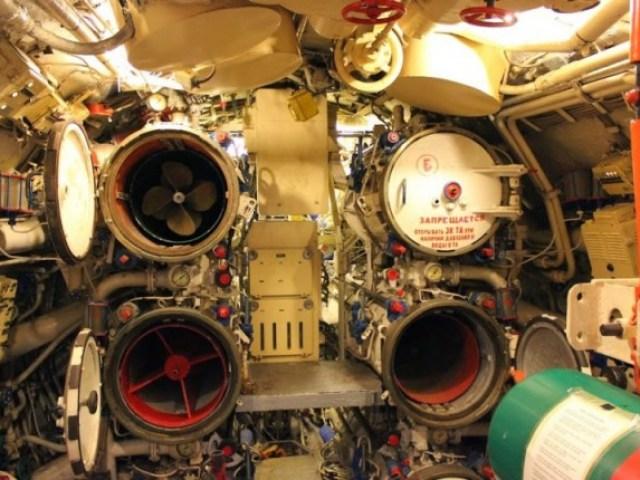 Морской музей Сан-Диего. Б-39.Торпедный отсек
