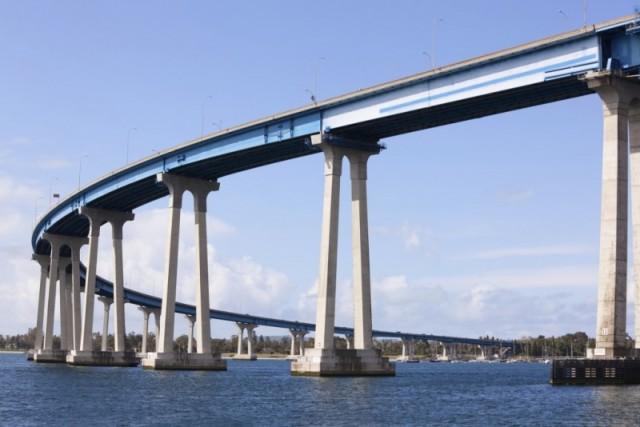 Мост Коронадо Сан-Диего