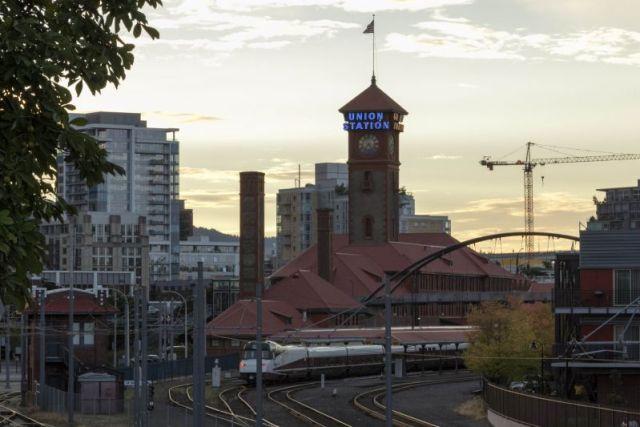 Портленд. Вокзал Union Station
