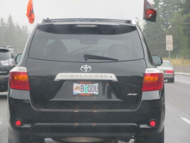 На дорогах Орегона. Фанаты команды Oregon State Beavers