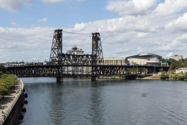 Портленд. Стальной мост