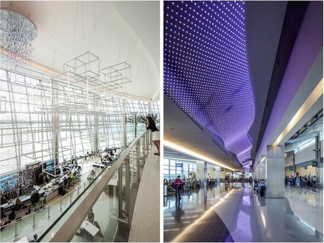 Аэропорт Сан-Диего. Терминалы