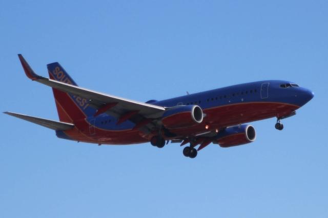 Аэропорт Сан-Диего. Боинг 737 (Boeing 737) компании Southwest