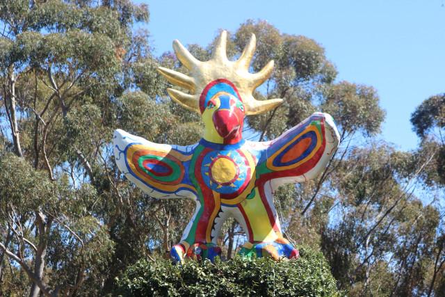 Сан-Диего. UCSD. Коллекция Стюарта. Sun God