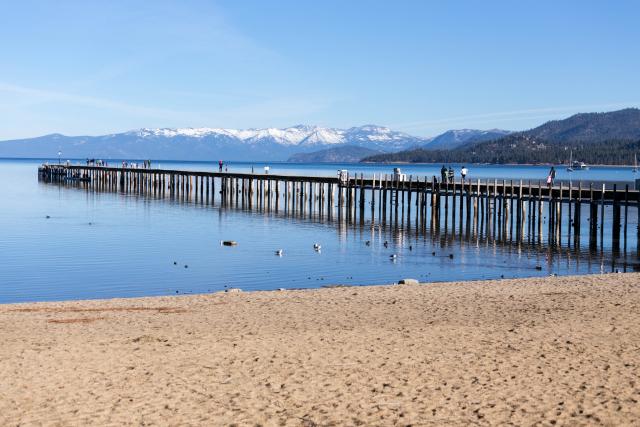 Пирс на озере Тахо (Lake Tahoe)