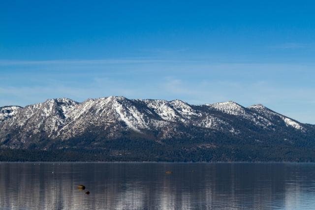 Озеро Тахо (Lake Tahoe). Тишина и спокойствие