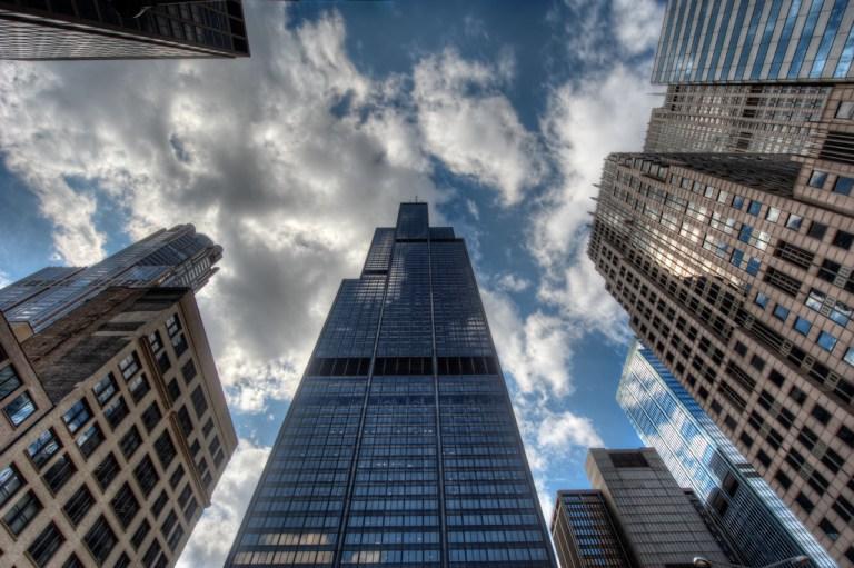 Chicago Willis Tower. Чикаго Уиллис Тауэр Достопримечательности