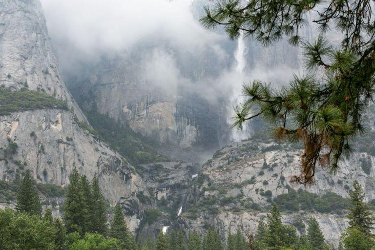Йосемити парк. Водопад Йосемити