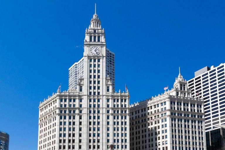 Чикаго Достопримечательности Небоскребы Wrigley Building
