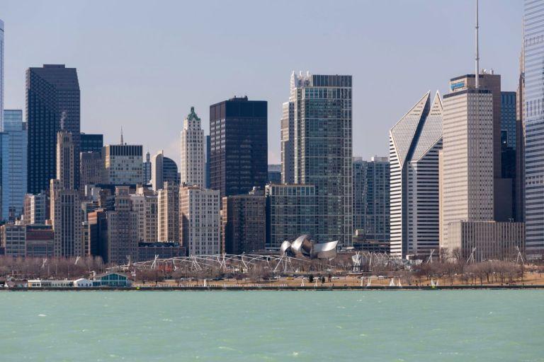 Чикаго Millenium Park