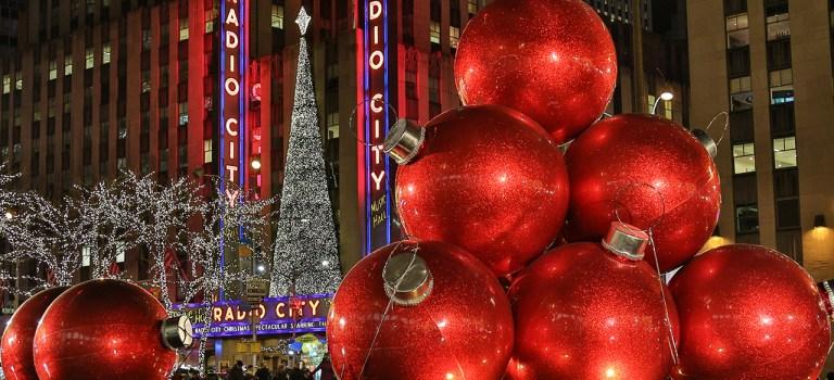 Нью-Йорк… Манхэттен… Новогодняя сказка