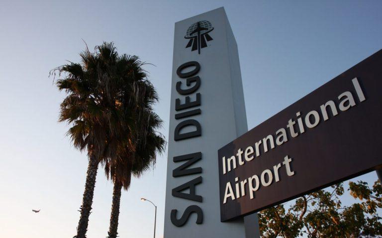 San Diego Airport. Аэропорт Сан-Диего