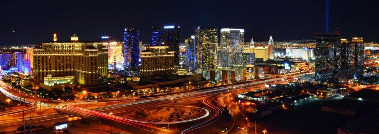 Вид на Лас-Вегас Стрип из отеля Рио