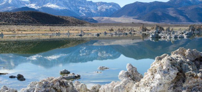 Калифорния. Скрытые сокровища. Мертвое озеро (Mono Lake)