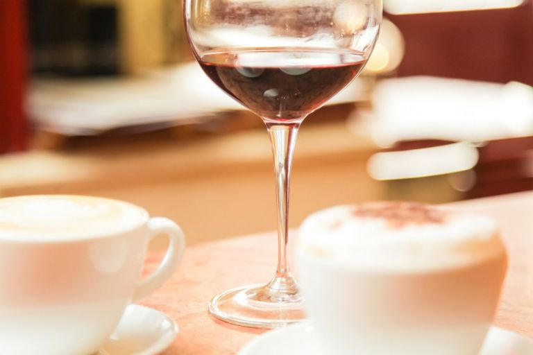 Джетлаг. Кофе и вино