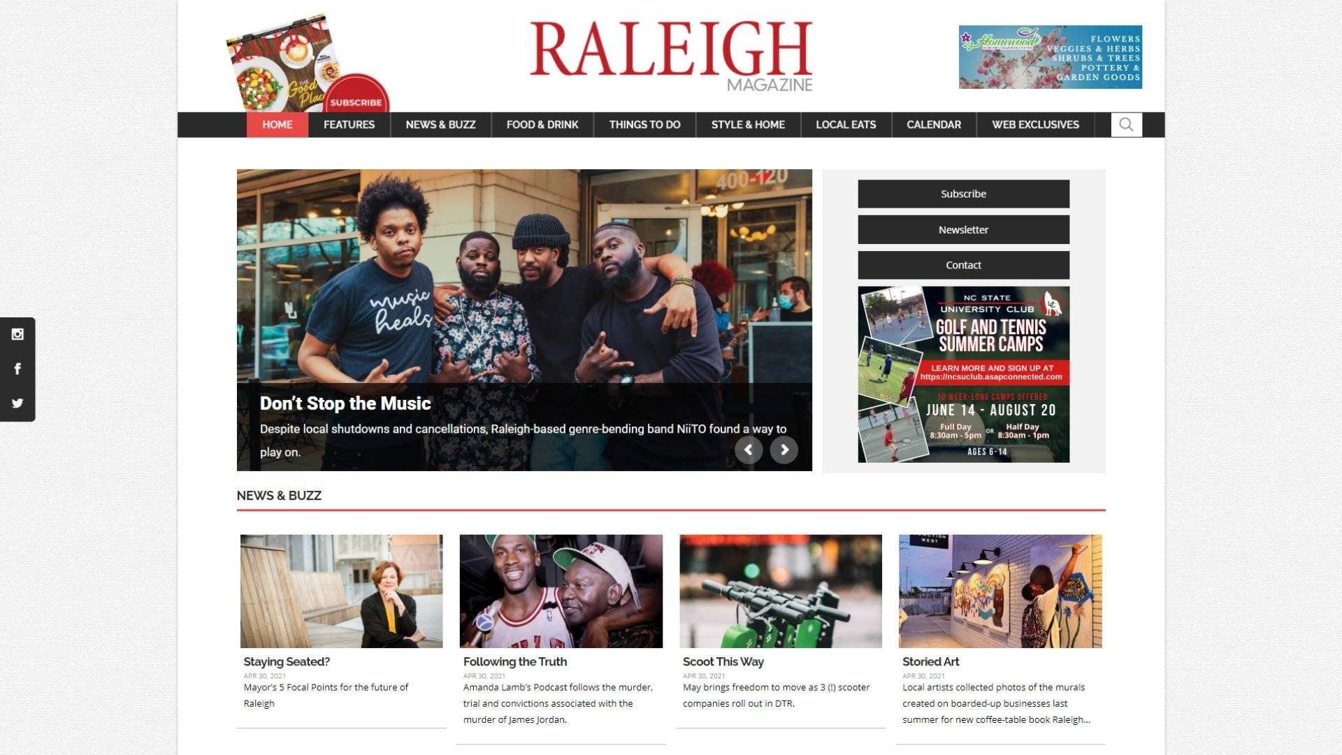 """Raleigh Magazine Case Study"" Featured Image"