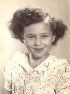 Betty Clemens, Sonora, 1951