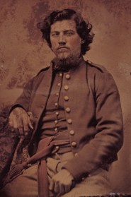 Isaac Chatfield, Union Army, tintype