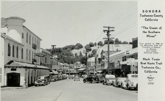 Sonora Main St Calif
