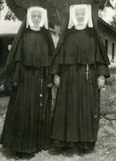 circa 1949, Sonora nuns