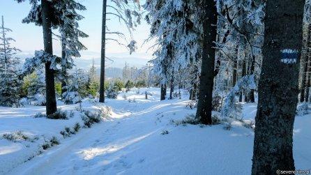 Niebieski szlak - bajeczna zima