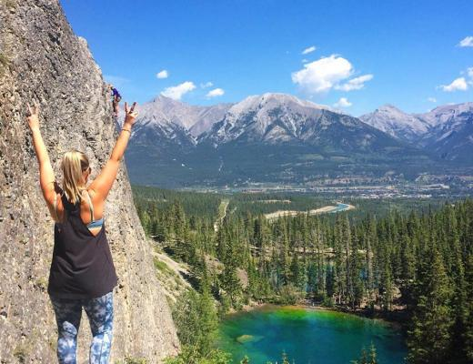 Grassi Lakes Hike, Canmore, Banff, Canada