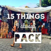 15 Things I Always Pack In My Bag!