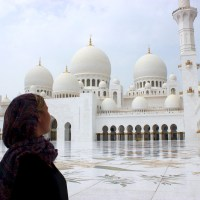 Visiting The Grand Mosque, Abu Dhabi