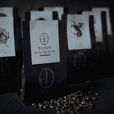 Seven Districts coffee bags