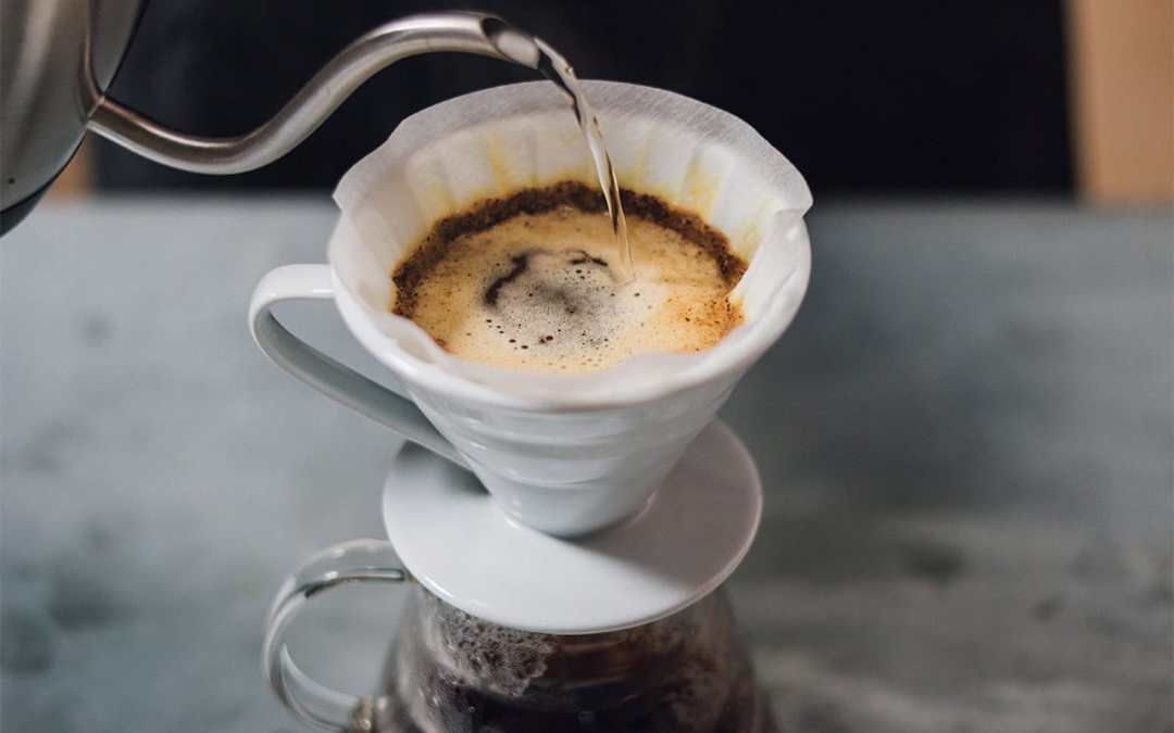 How to brew using the pour over method