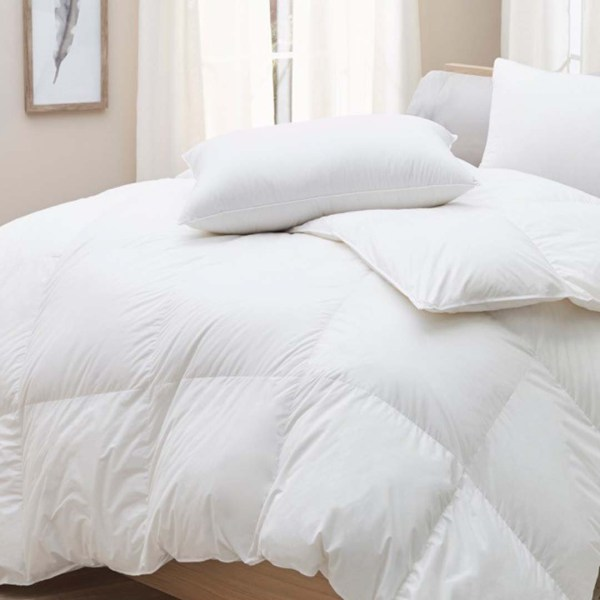 Uncommonly cozy Batiste comforter and pillows