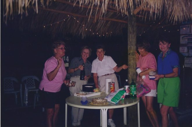 Carrol Majewski and friends