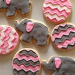 Elephant, Chevron, Garbage Truck, and Sock Monkey Desserts + an Update
